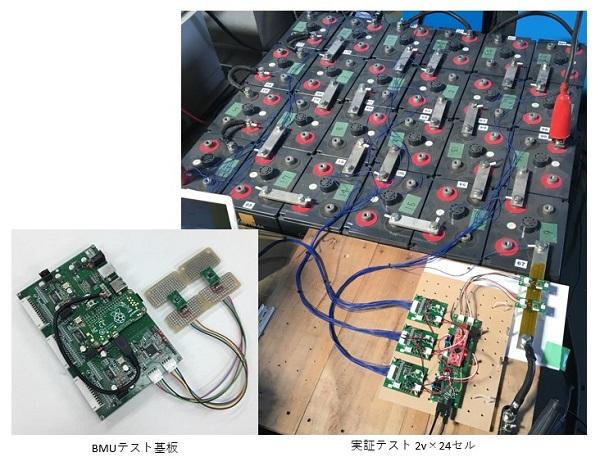 バッテリー充放電監視