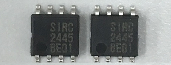Characteristics of the SIRC sensor